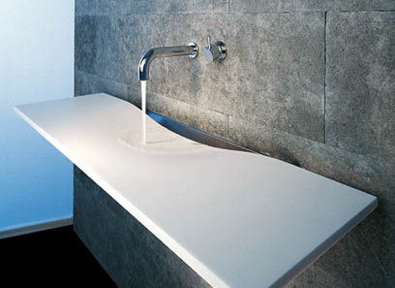 Universal design for accessibility ada sinks materials for Bathroom sink designs