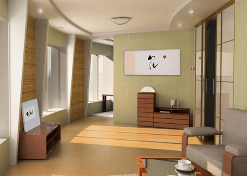 Japanese Style Bedroom, Architectural Japanese
