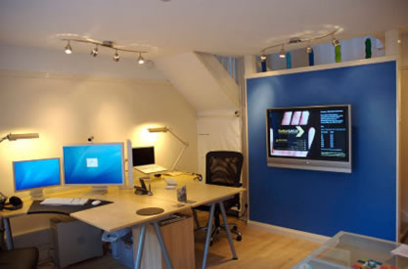 Small Office Ideas Part - 19: Small Office Design Photos / Pictures Photos Designs And Ideas For Home  House Office