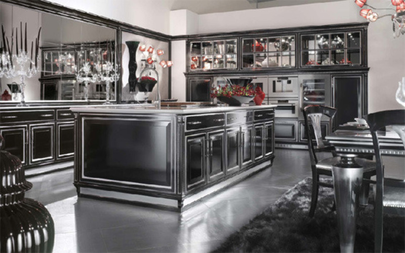 Black Kitchen Design, Black Kitchen Cabinets ~ Kitchen Design : Best Kitchen Design Ideas