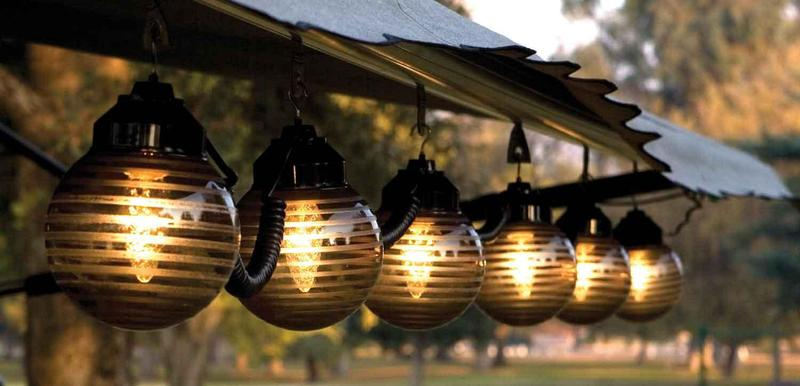 Outdoor Patio Lights, Garden Patio Lights Design
