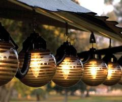 Garden Patio Lights Design