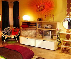 Teenage Bedroom Decorating Ideas By Ikea 2012 : Decorating Design Ideas