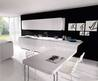 Elegant Black And White Kitchen – Dining  Design Ideas