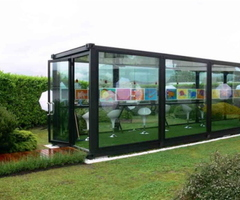 Dreams Homes,Interior Design, Luxury: Greentainer Greenhouse Project