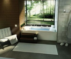 Natural Romantic Spa Bathroom Designs  – 10 Amazing Romantic Spa Bathroom Design Ideas – Rexo Home.Com