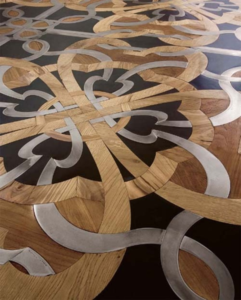 Flooring Design Ideas, Artistic Wooden Flooring From Parchettificio