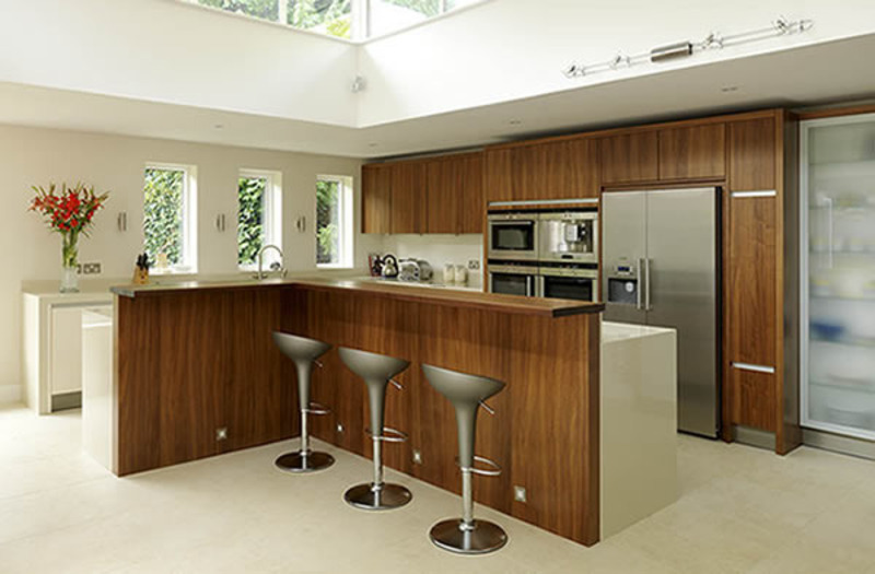 Kitchen Bar Design, Stylish Home Kitchen Cabinet Bar