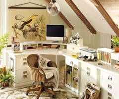 Home Office Design Ideas From Pottery Barn
