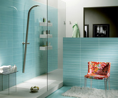 Modern Blue Bathroom Color Decorating Ideas Picture – Bathroom Colors Selection To Start Your Bathroom Remodeling Process – Interior Design Ideas
