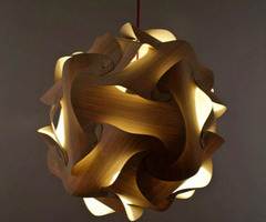 Complicated Structure Wooden Pendant Lamp By Naos Exotic Look Contemporary Pendant Lamp – Interiorshowoff.Com