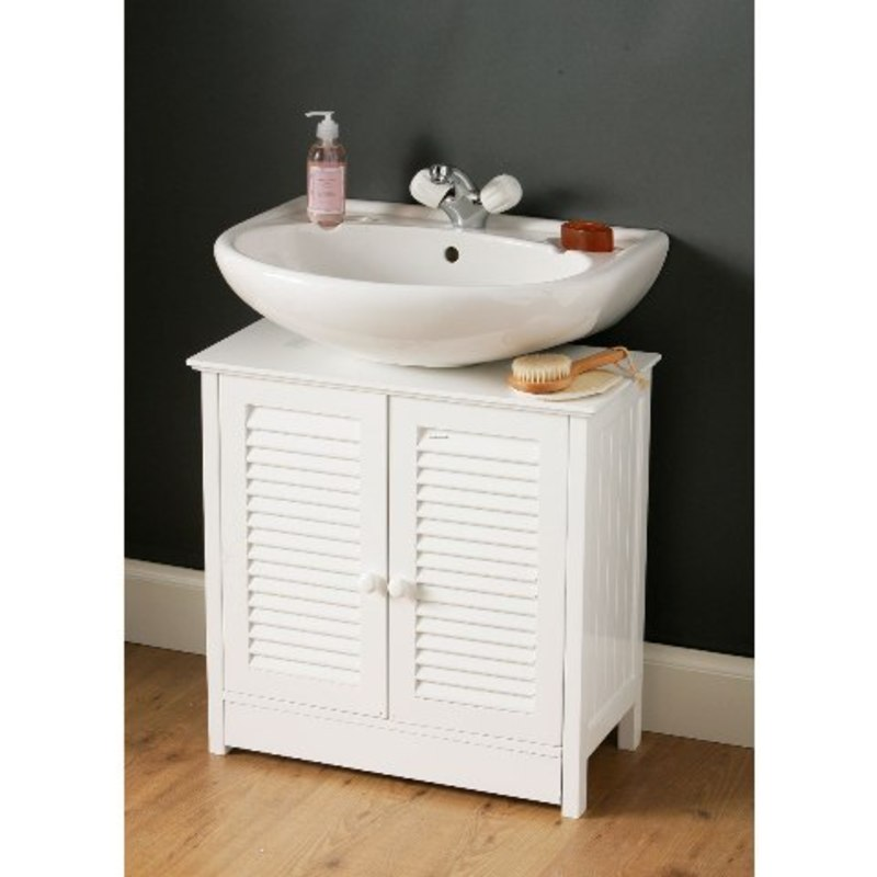 Bathroom ideas picture bathroom sink cabinets design - Under sink bathroom storage cabinet ...