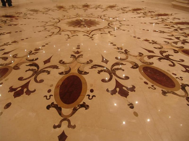 Paramount neo classic floor image collections marble floor for Classic floor designs