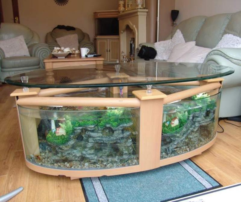 Coffee Table Aquarium, Coffee Tables Hf1600 Beech