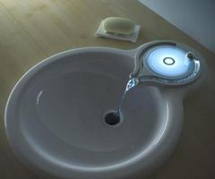 Latest Designs: The Ripple Faucet Is Not Your Typical Bathroom Sink…