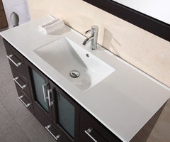 "Stanton ""48"" Modern Bathroom Vanity Drop Sink B48"