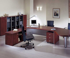 Modern Wooden Office