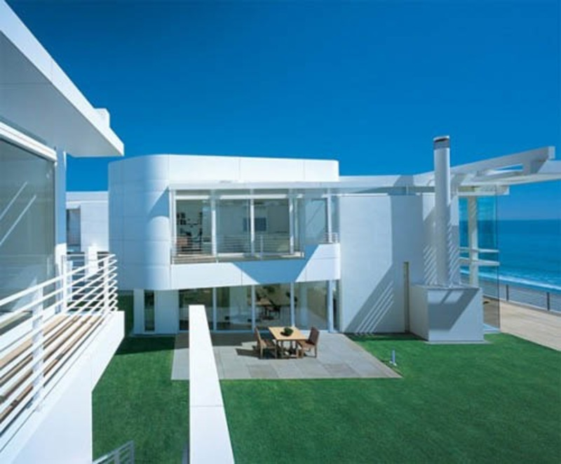 Beach House Architecture, Beach House Design By Richard Meier And Michael Palladino