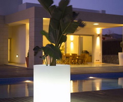 Unique Inspiration Modern Outdoor Lighting Flower Pots For Home Garden Decorations