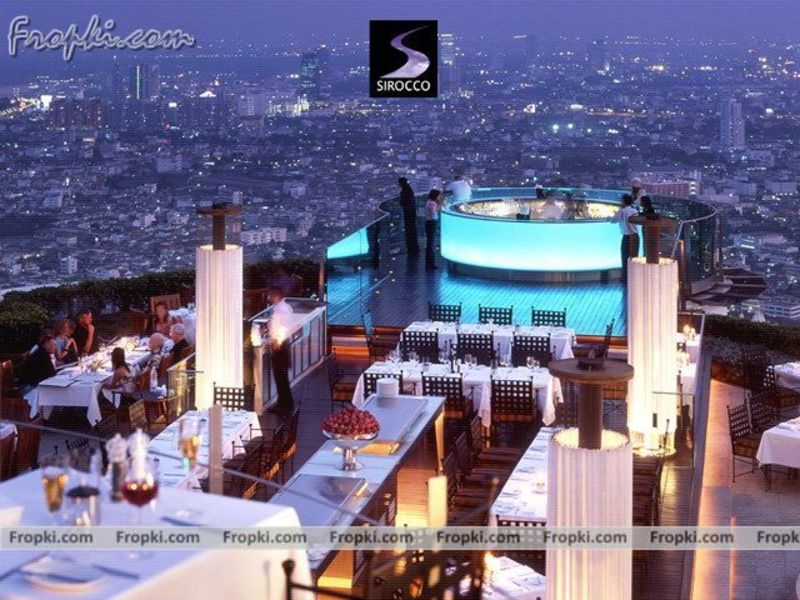 Top Roof Restaurant, Bangkok's Beautiful Roof Top Restaurant