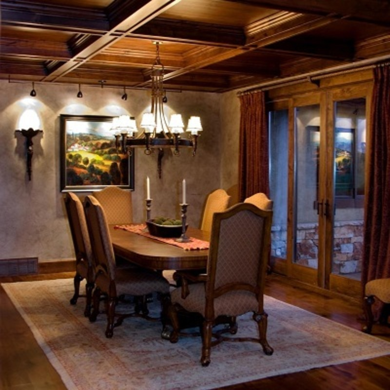 How to choose proper dining room lighting fixtures for Lighting dining room ideas