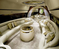 Art: Dopest Private Jet Interior By Complex