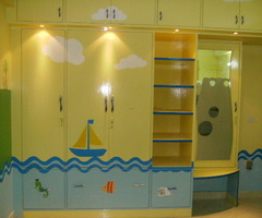 Kids Wardrobe Furniture Mumbai