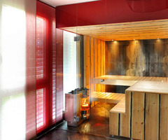 Wooden Minimalist Sauna Room Design Ideas