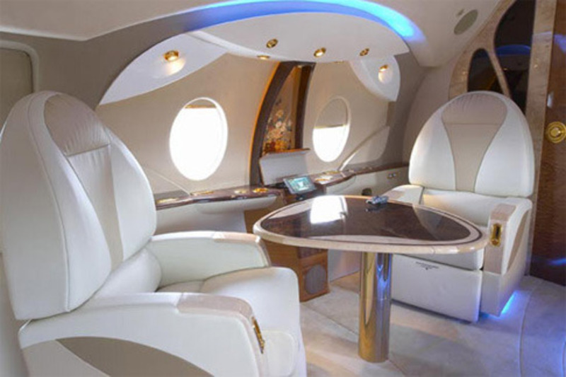 Private Jets Interior Photos, Private Jet Pictures