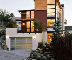 Contemporary Home Exterior Wallpaper 1