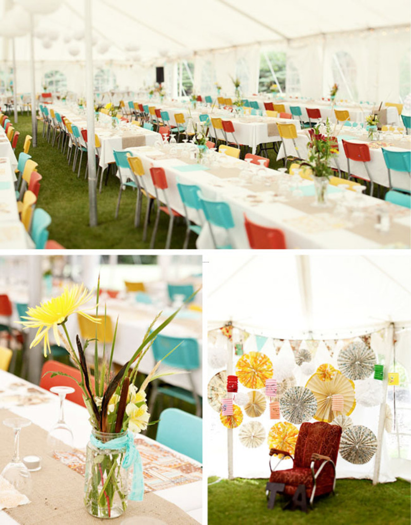 Modern Wedding Decoration Ideas, Inspiration Colorful Modern Wedding Decor Ideas Picture