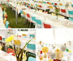 Inspiration Colorful Modern Wedding Decor Ideas Picture
