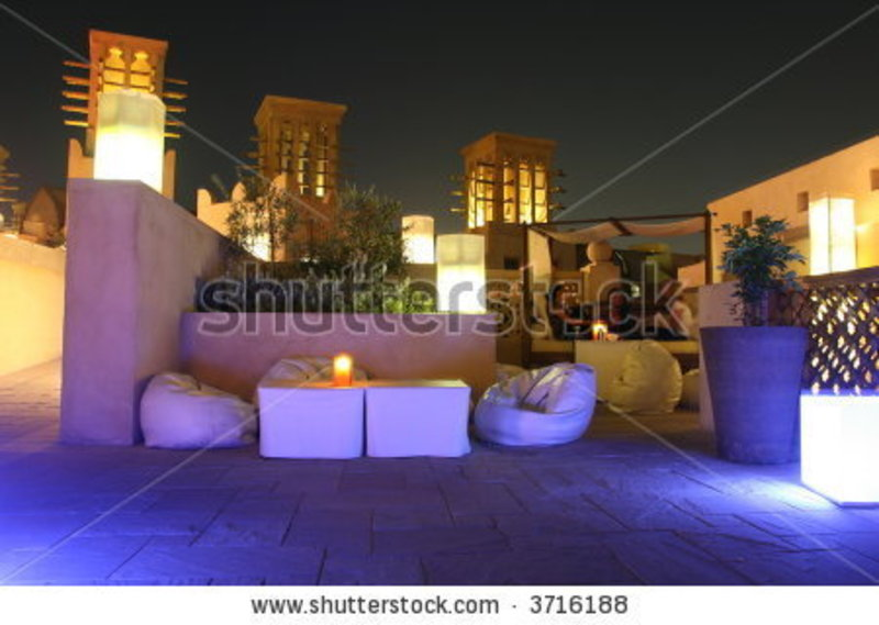 Rooftop Lounge, Rooftop Lounge Stock Photo 3716188 : Shutterstock