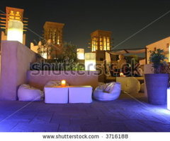 Rooftop Lounge Stock Photo 3716188 : Shutterstock