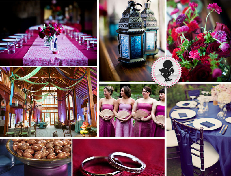 Purple Wedding Decorations, Pink And Purple Wedding Decorations