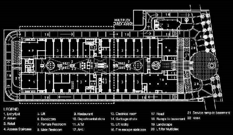 Shopping Mall Plans, Floor Plan Of Mgf Metropolitan Mall Gurgaon, Metropolitan Shopping Malls, Mgf Shopping Malls, Gurgaon Shopping Mall