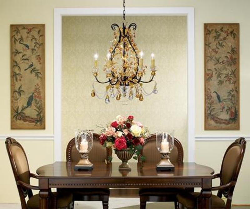 Dining Room Chandelier, The Dining Room Decor Ideas Luxury