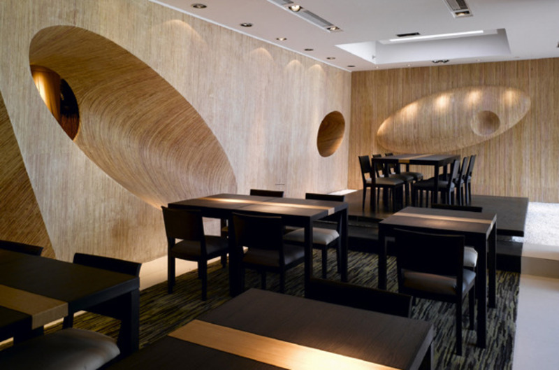 Japanese Restaurant Interior Design With Unique Concept Design Bookmark 15762