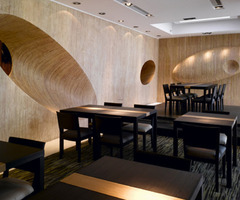 Japanese Restaurant Interior Design With Unique Concept