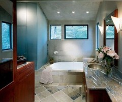 "Tlc Home ""Bathroom Decorating Idea: Simple And Elegant"""