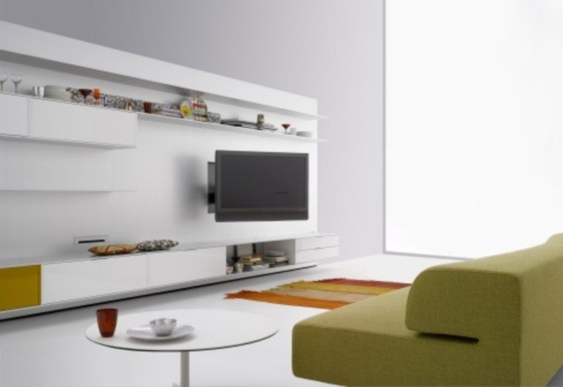 Design Wall Mounted Tv Cabinet : Wall mounted modern tv cabinets for small living room