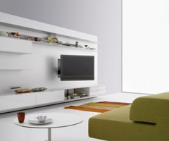 Wall Mounted Modern Tv Cabinets For Small Living Room Designs Elevenfive White Minimalist Wall System Modern Tv Cabinet Design By Mdf Italia – Home Designs And Pictures