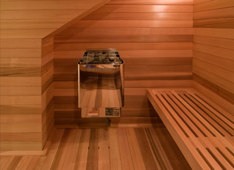 Sauna Design Design Bookmark 15804