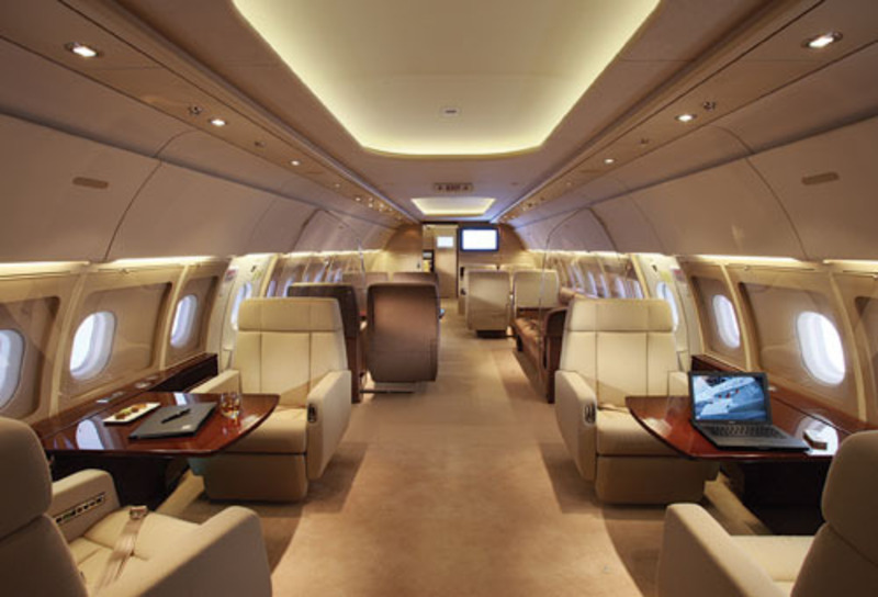 Outfitted With A Personal Touch  Private Jets Of Today  Design Bookmark 15808