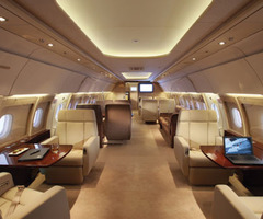 Outfitted With A Personal Touch  Private Jets Of Today