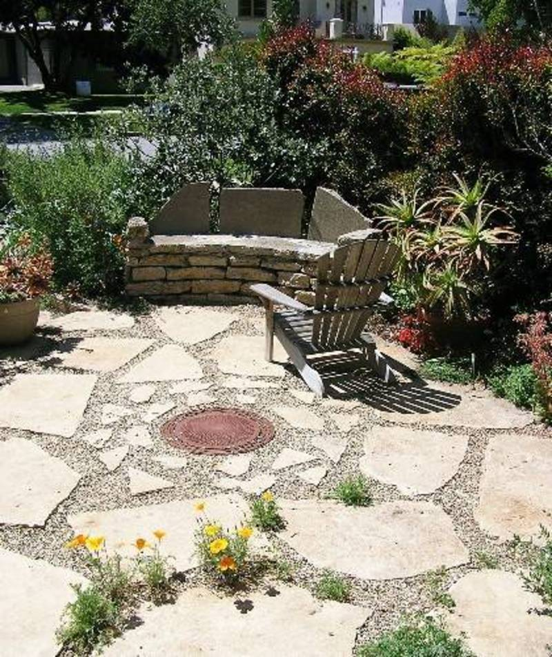 Patio design ideas design bookmark 15816 for Flagstone patio designs