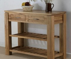 Solid Oak Console Table Design Furniture