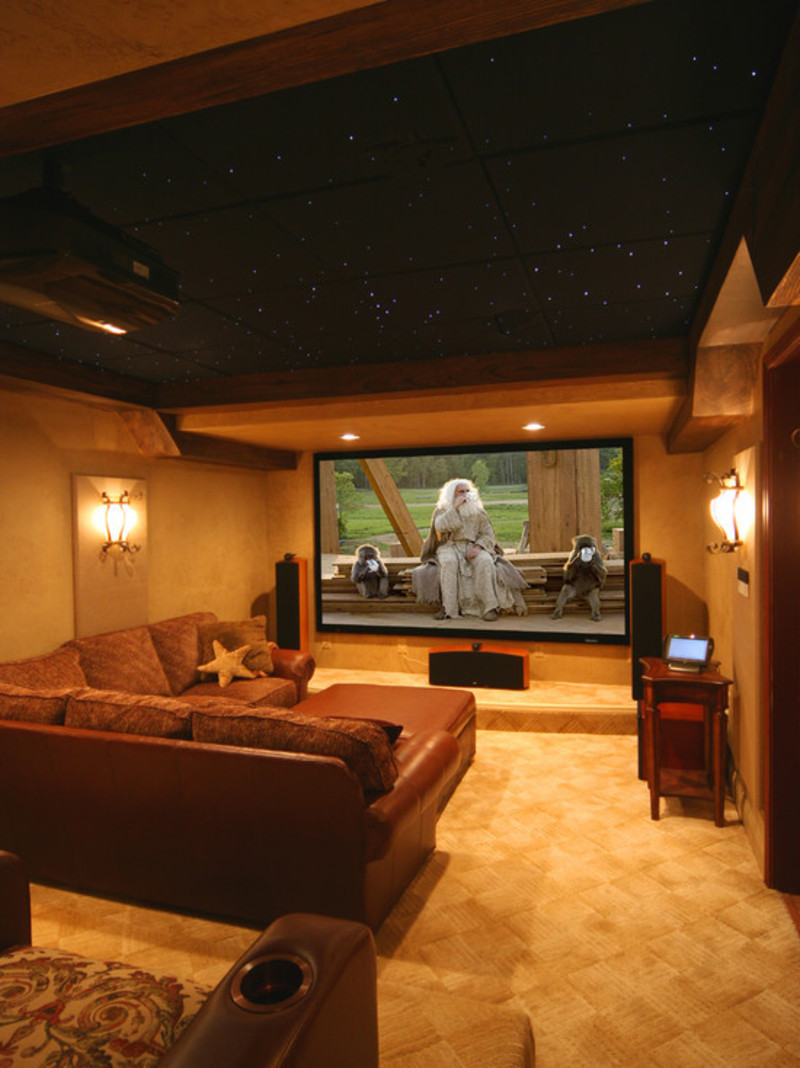 Media Room Decorating Ideas, Media Room Design, Pictures, Remodel, Decor And Ideas