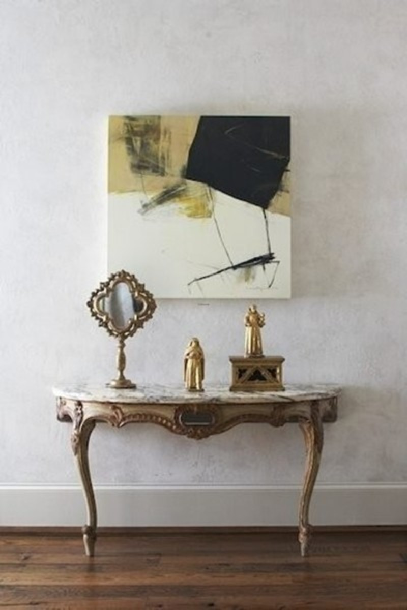 Foyer Table Decorating Ideas, Classic Style: Occasional Tables