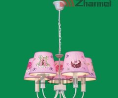 Clothes Pink Fabric Kids Wall Lamp
